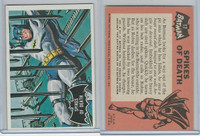 1966 Topps, Batman Black Bat, #17 Spikes of Death