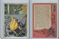 1966 Topps, Batman Black Bat, #20 Robin to the Rescue