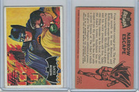 1966 Topps, Batman Black Bat, #21 Narrow Escape