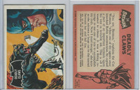 1966 Topps, Batman Black Bat, #34 Deadly Claws