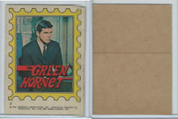 1966 Topps, Green Hornet Stickers, #2 The Green Hornet