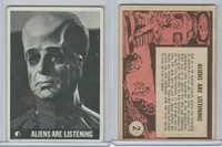 1966 Topps, Lost In Space, #2 Aliens Are Listening