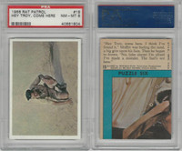 "1966 Topps, Rat Patrol, #19 ""Hey Troy, Come Here. I Think, PSA 8 NMMT"