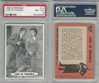 1966 Topps, Superman, #12 Lois In Trouble, PSA 8 NMMT
