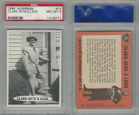 1966 Topps, Superman, #16 Clark Gets A Lead, PSA 8 NMMT