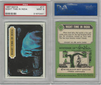 1967 Topps, Maya, #17 Night Time in India, PSA 9 Mint