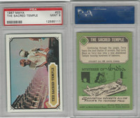 1967 Topps, Maya, #23 The Sacred Temple, PSA 9 Mint