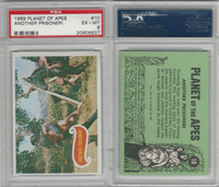 1969 Topps, Planet Of The Apes, #10 Another Prisoner!, PSA 6 EXMT
