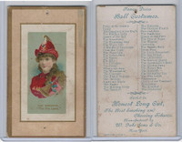 N107 Duke, Fancy Dress Ball Costumes, 1889, The Fire Lassie, Barrington