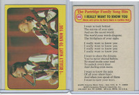 "1971 Topps, Partridge Family Series 1, #48 ""I Really Want To Know You"""