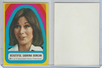 1977 Topps, Charlie's Angels Stickers, #23 Beautiful Sabrina Duncan