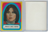 1977 Topps, Charlie's Angels Stickers, #33 Charlie's Angel Sabrina