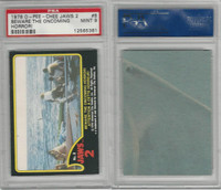 1978 O-Pee-Chee, Jaws 2, #8 Beward the Oncoming Horror, PSA 9 Mint