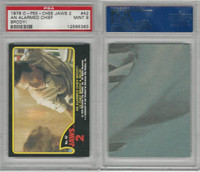1978 O-Pee-Chee, Jaws 2, #42 An Alarmed Chief Brody, PSA 9 Mint