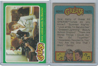 1978 Topps, Grease, #102 Some Unkind Words For Blanche