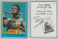 1978 Topps, Jaws 2 Stickers, #1