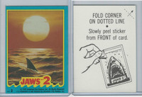 1978 Topps, Jaws 2 Stickers, #2
