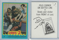 1978 Topps, Jaws 2 Stickers, #4