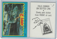1978 Topps, Jaws 2 Stickers, #7