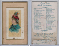N107 Duke, Fancy Dress Ball Costumes, 1889, Pocahontas, Minnie Conway