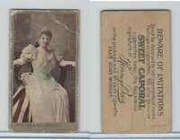 N210 Kinney, Actresses, 1892, #17 Lillian Russell