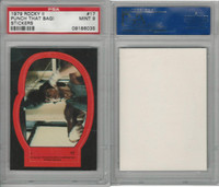 1979 Topps, Rocky II Stickers, #17 Punch That Bag, PSA 9 Mint