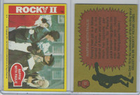 1979 Topps, Rocky II, #13 Rappin' with Paulie