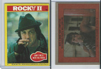1979 Topps, Rocky II, #14 Don't Mess With The Rock