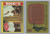 1979 Topps, Rocky II, #19 Visions Of Victory