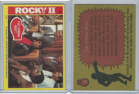 1979 Topps, Rocky II, #20 The Verbal Bout