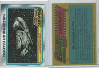 1980 Topps, Star Wars-The Empire Strikes Back, #134 Millennium Falcon