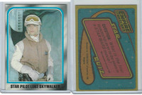 1980 Topps, Star Wars-The Empire Strikes Back, #147 Star Pilot Luke