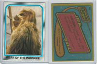 1980 Topps, Star Wars-The Empire Strikes Back, #158 Roar Of Wookiee