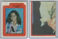 1983 Topps, A-Team Stickers, #3 Amy Amanda Allen