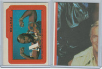1983 Topps, A-Team Stickers, #9