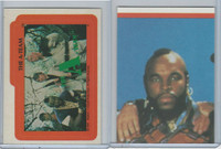 1983 Topps, A-Team Stickers, #10 The A-Team