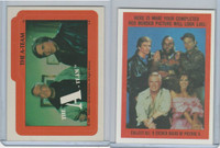 1983 Topps, A-Team Stickers, #11 The A-Team