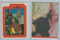 1983 Topps, A-Team Stickers, #12 Trio For Trouble