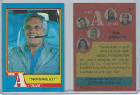 1983 Topps, A-Team, #11 No Sweat
