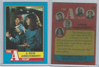 1983 Topps, A-Team, #13 A New Assignment