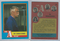 1983 Topps, A-Team, #15 In Disguise