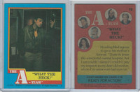 1983 Topps, A-Team, #18 What the Heck