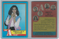 1983 Topps, A-Team, #20 Pretty As A Picture