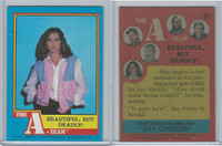 1983 Topps, A-Team, #21 Beautiful But Deadly