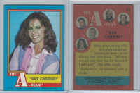 1983 Topps, A-Team, #22 Say Cheese