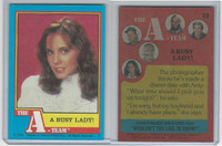 1983 Topps, A-Team, #23 A Busy Lady