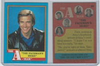 1983 Topps, A-Team, #25 The Faceman's Here