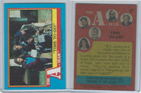 1983 Topps, A-Team, #27 Time To Go
