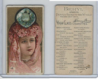N218 Kinney, Famous Gems of the World, 1889, Beryl America