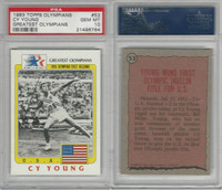 1983 Topps, Greatest Olympians, #53 Cy Young, PSA 10 Gem